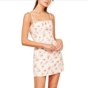 Reformation | Ava Linen Mini Dress Geraldine Print